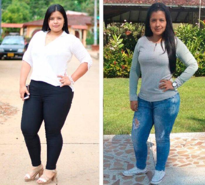 Luisa G. 4 meses de uso de Alipotec Raíz de Tejocote Perdió 71 Libras