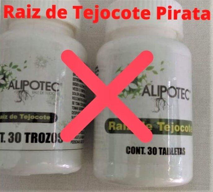 pastillas de alipotec falsas o piratas